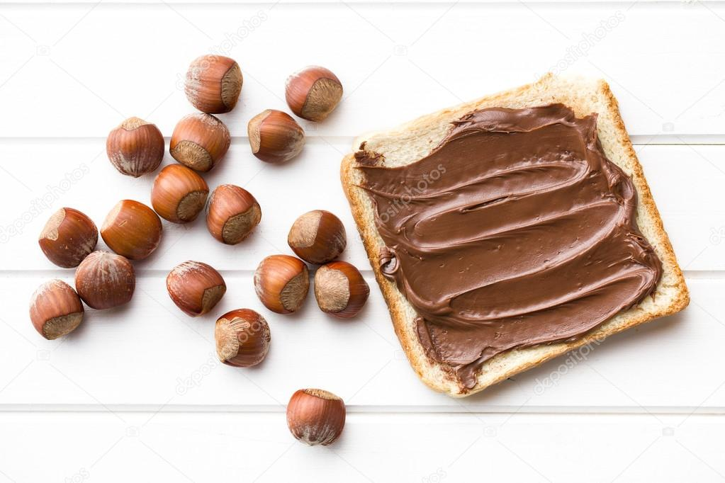 Chocolate and Bread Spread